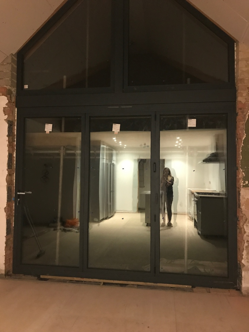 Bifold doors are in! – Bungalow to a house